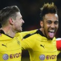 Aubameyang tongue