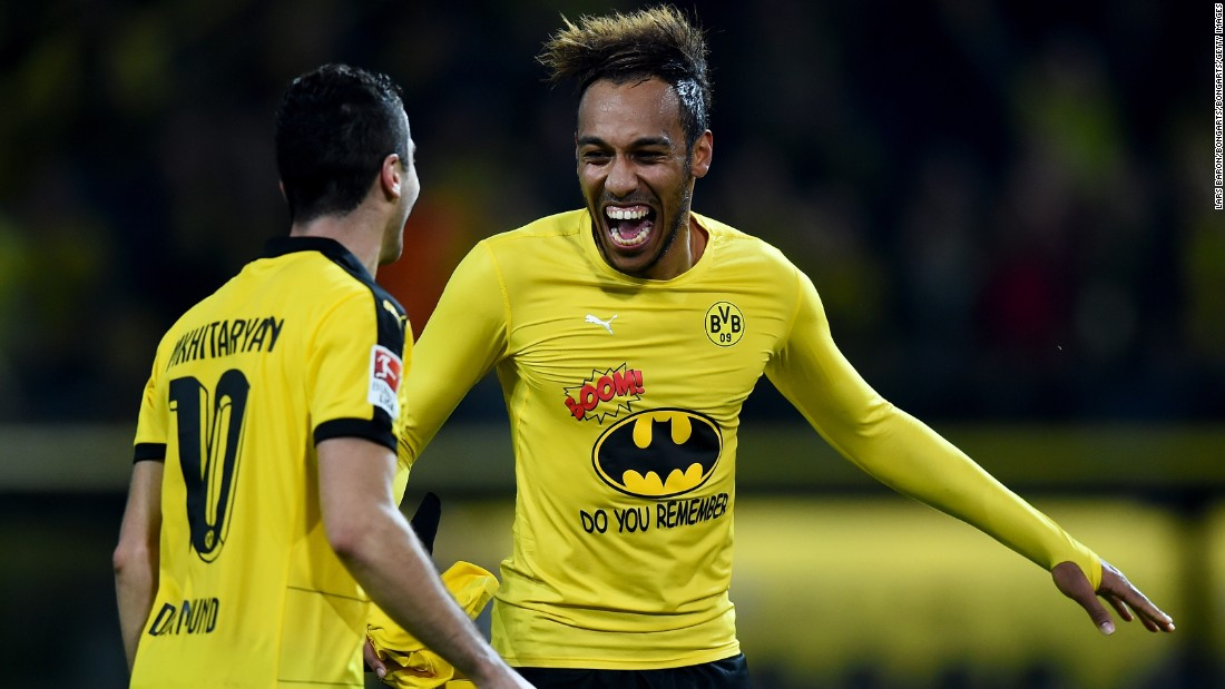 He even revealed a Batman shirt after Dortmund's win over Schalke last year.