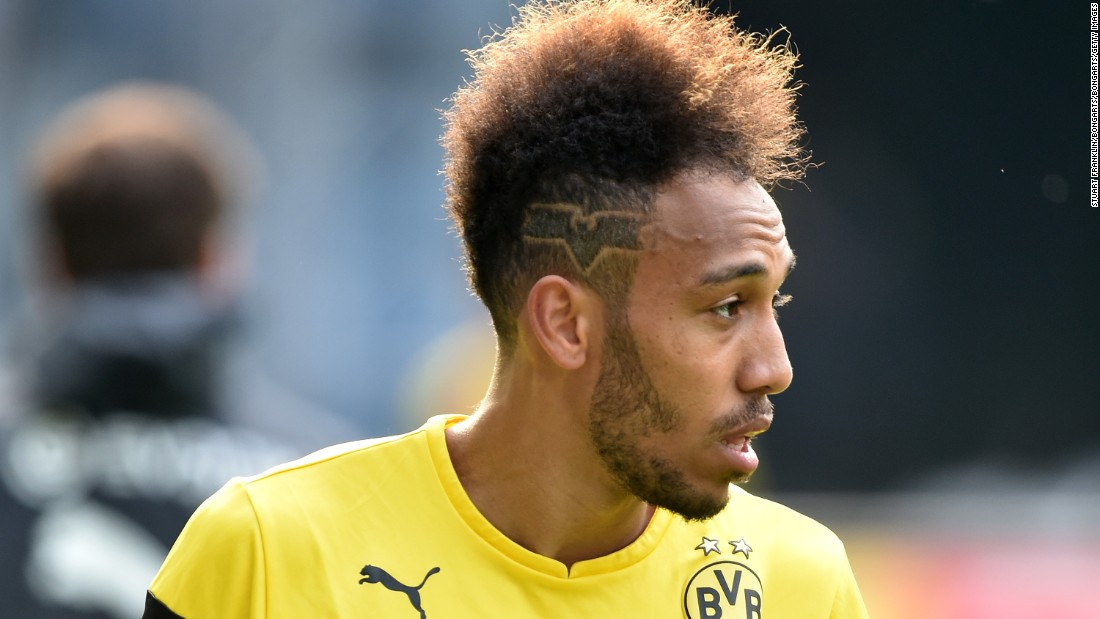And sported a Batman logo shaved into his head before the 2015 German Cup final.