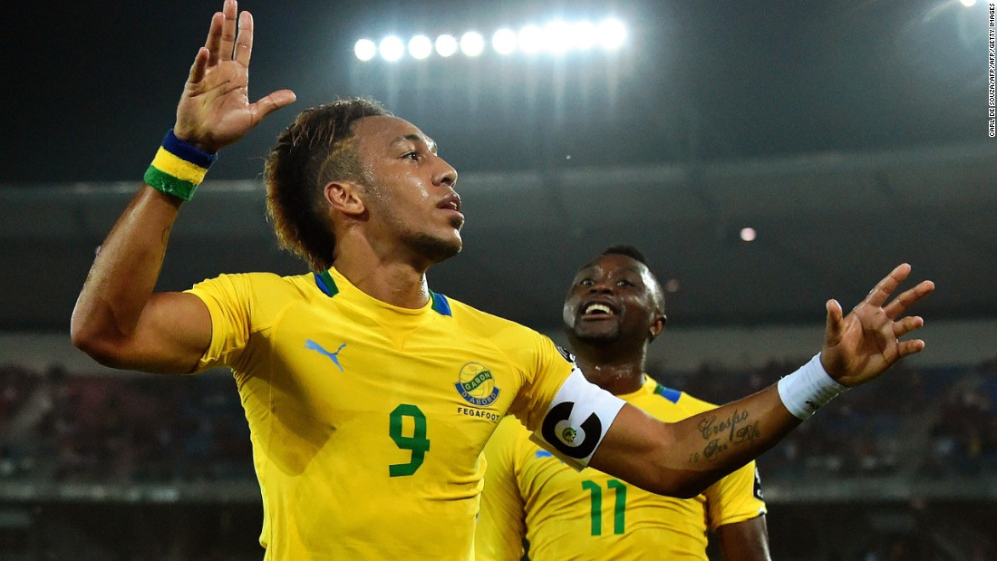 Aubameyang will also captain Gabon on home soil in January's Africa Cup of Nations.