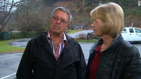 Amy and Doug Williams did not know if their home was destroyed in the wildfires.