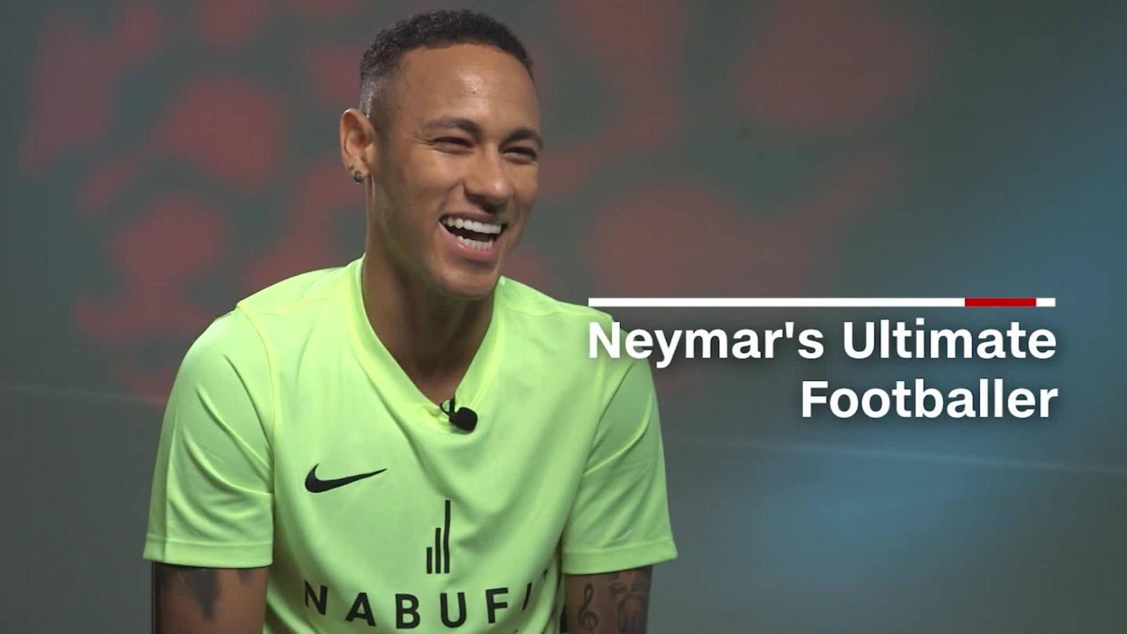 Neymar Barcelona s Brazil star creates his dream player CNN