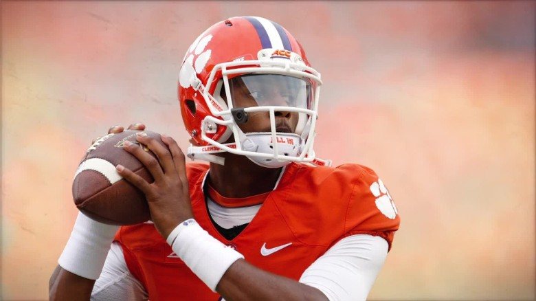 Clemson's Deshaun Watson building dreams one home at a time
