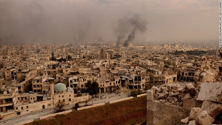 Syrian regime: Stay and be bombed or flee and starve