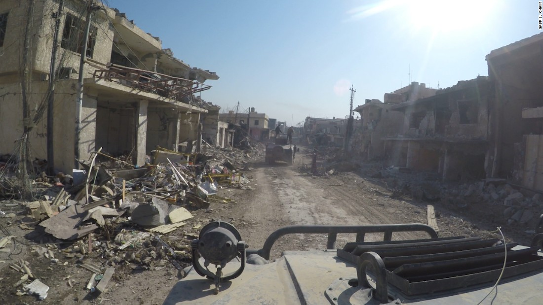 House to House: The painstaking process of sweeping ISIS from Mosul