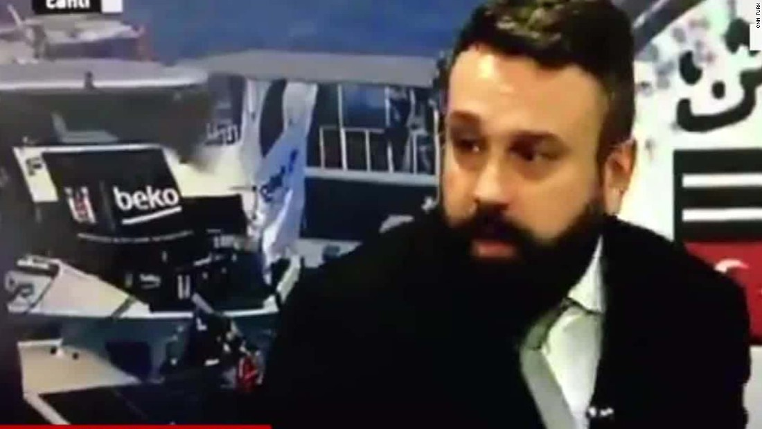 Video captures sound of explosion in Istanbul