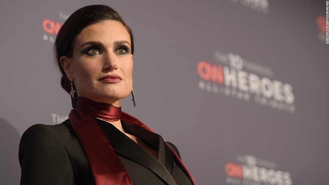 """Frozen"" singer Idina Menzel will perform ""I See You,"" a song from her new album, ""Idina"" at the CNN Heroes awards show."