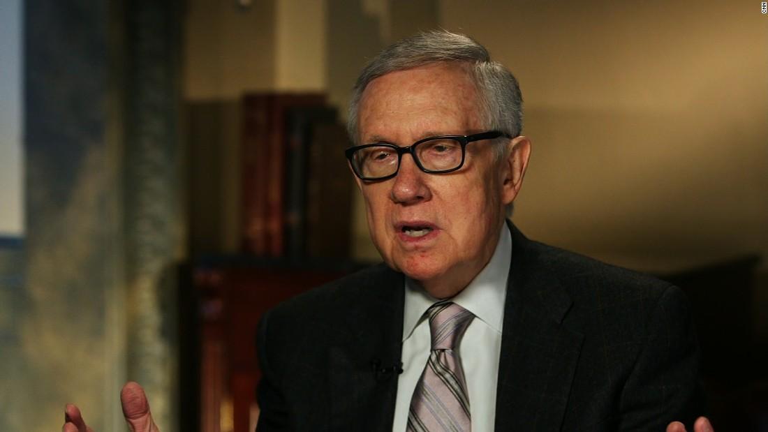 Reid: FBI director's letter cost Democrats the election, Senate