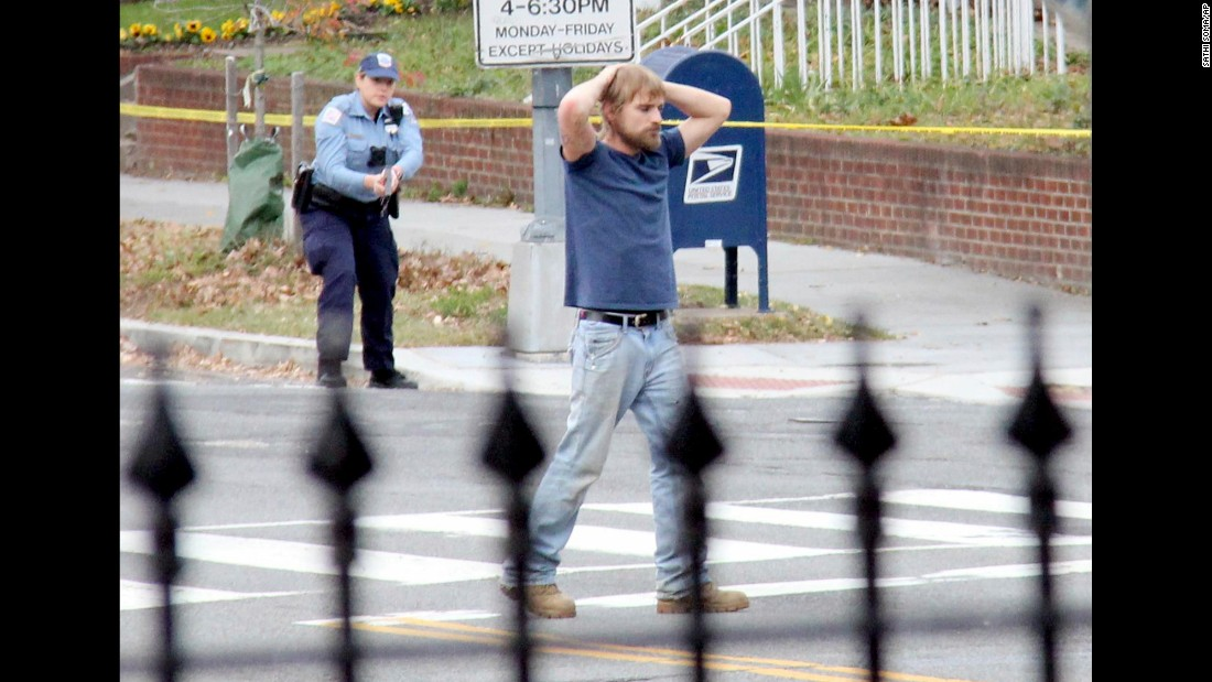 "<strong>December 4: </strong>Edgar Maddison Welch, a 28-year-old from Salisbury, North Carolina, surrenders to police outside a pizzeria in the nation's capital. He was later charged with assault with a dangerous weapon. Washington's Metropolitan Police Department said Welch admitted he had come <a href=""http://www.cnn.com/2016/12/04/politics/gun-incident-fake-news/index.html"" target=""_blank"">to investigate ""Pizza Gate,""</a> a fictitious online conspiracy theory. Two firearms were recovered inside the restaurant, and an additional weapon was recovered from the suspect's vehicle, police said."