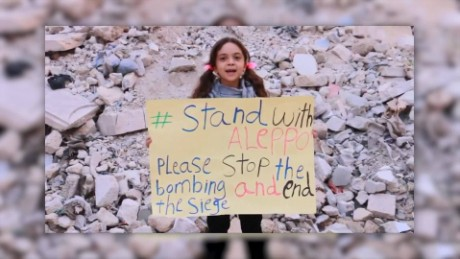 Aleppo girl Bana evacuated from war-ravaged city