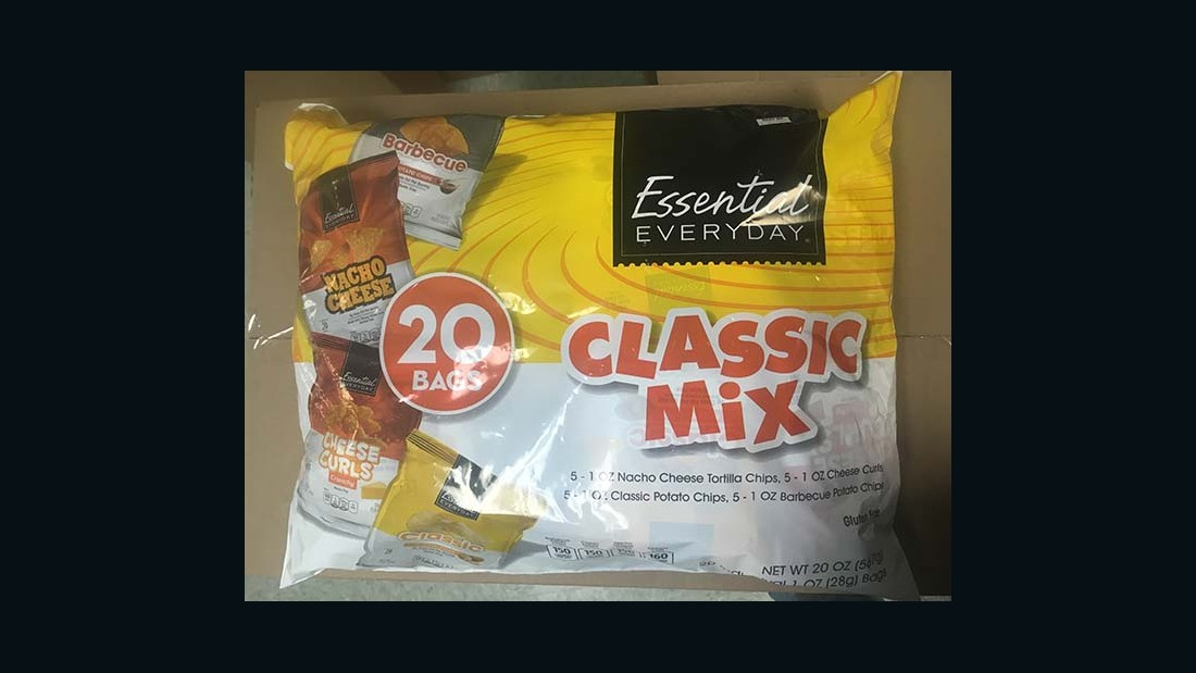 Shearer's Foods LLC 20-bag Classic Mix (1-ounce Nacho Cheese Tortilla only)
