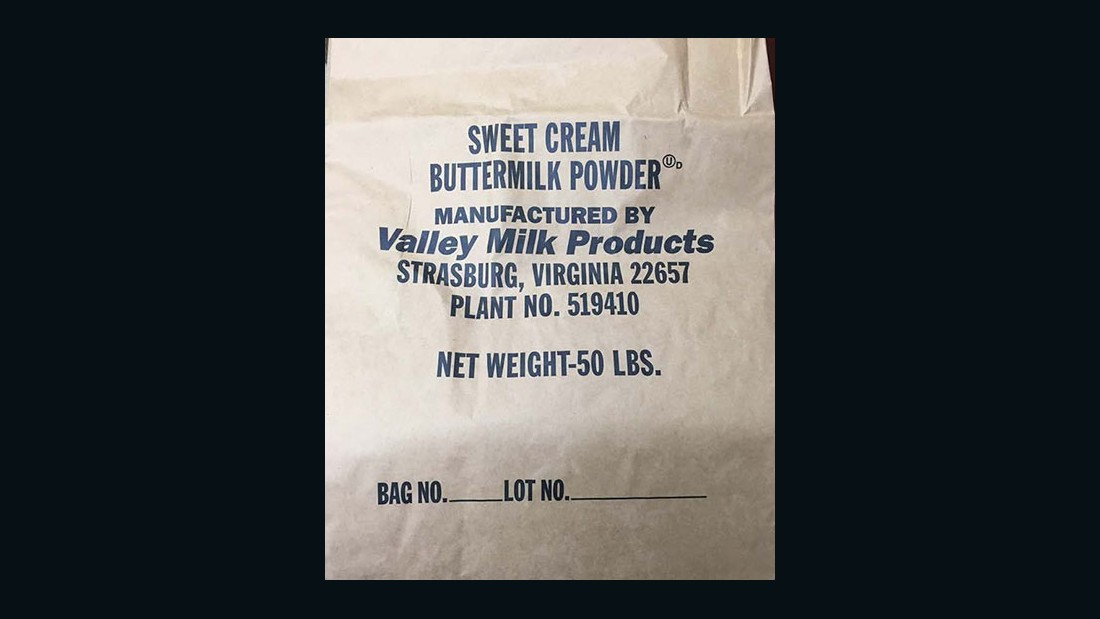 Valley Milk Products Sweet Cream Buttermilk Powder