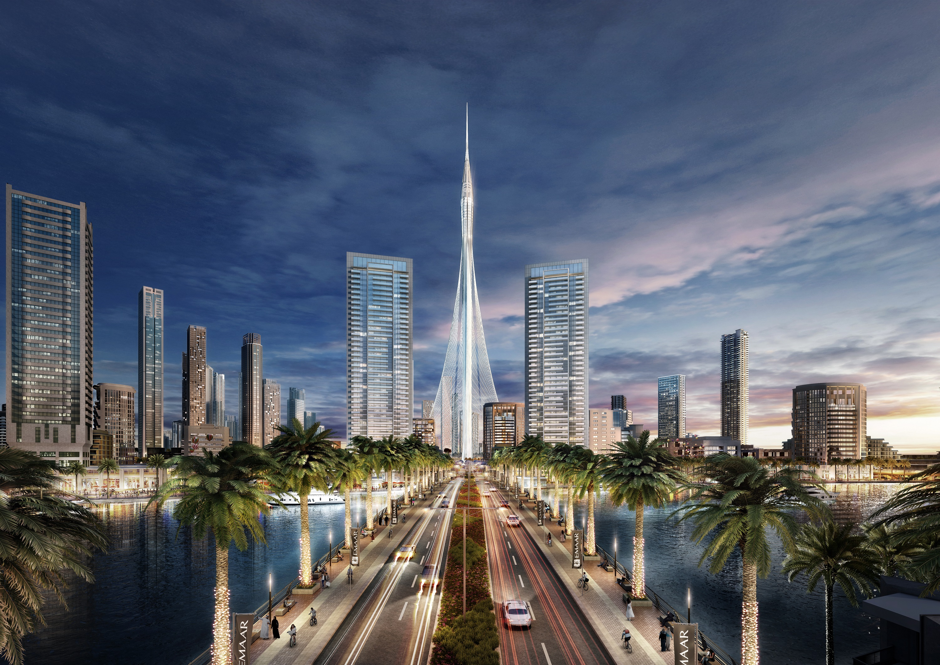 Tower At Dubai Creek Harbour Joins Race To Be World S Tallest Building Cnn Style