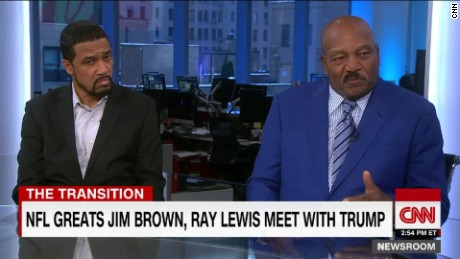 NFL great Brown on meeting Trump: 'He's got my admiration'