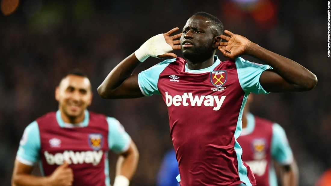<strong>Cheikhou Kouyate, Senegal: </strong>The 27-year-old rock of West Ham's midfield can score goals when called upon -- including the Hammers' first-ever goal at the Olympic Stadium this season. Senegal's towering 6-foot 4-inch team captain played in the 2015 Cup of Nations as well as the 2012 Olympics.