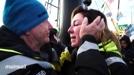 Emotional send-off for Vendee Globe sailors