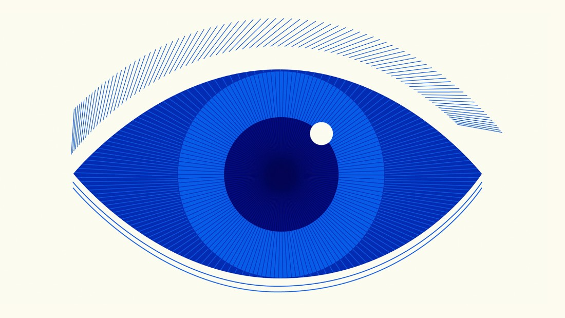 Why everyone has brown eyes, even if they appear blue