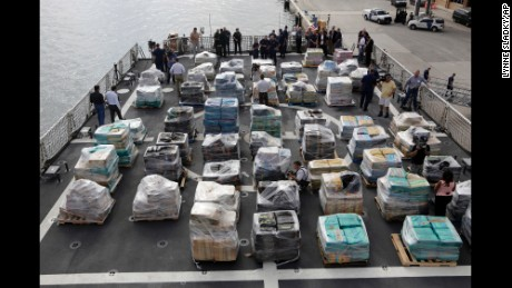 Coast Guard seizes 26.5 tons of cocaine