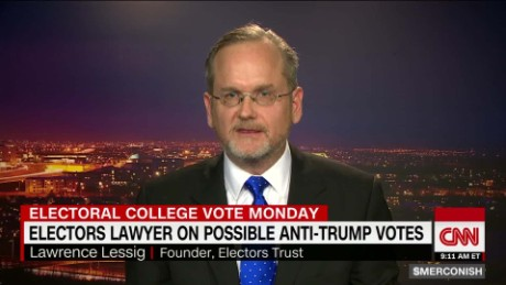Elector lawyer Lessig on possible anti-Trump votes