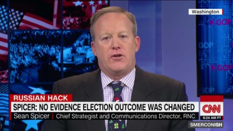 Spicer on Russia hack: no proof result changed_00000306