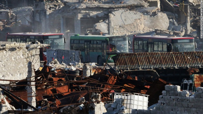 Aleppo evacuations halted, again