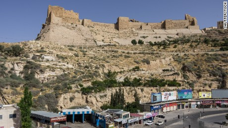 File photo of the 12th-century castle in Karak, Jordan.