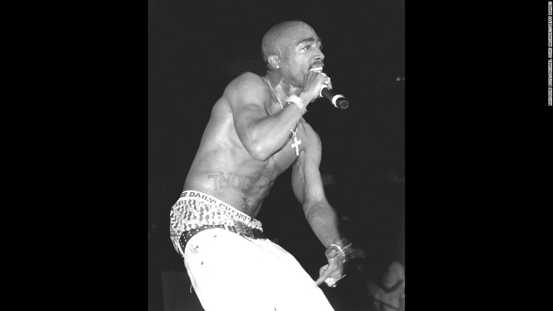 Rapper and actor Tupac Shakur was chosen to be inducted into the Rock and Roll Hall of Fame after his first time being nominated.