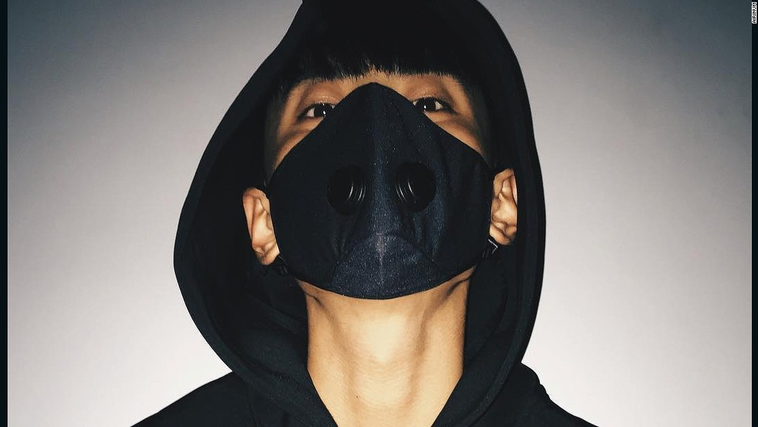 Stockholm-based Airinum say their mask offers a new solution to air pollution.