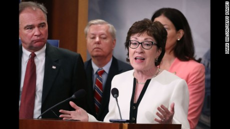 Collins backs tax bill, but GOP doesn't deliver on Obamacare payment bills she was promised