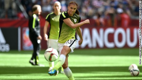 USWNT star Alex Morgan has left Orlando Pride to sign for European champion Lyon.