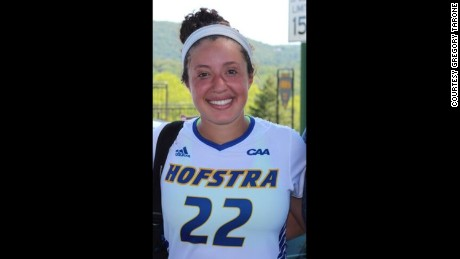 Noriana Radwan now plays soccer for Hofstra University, where she has a partial scholarship.