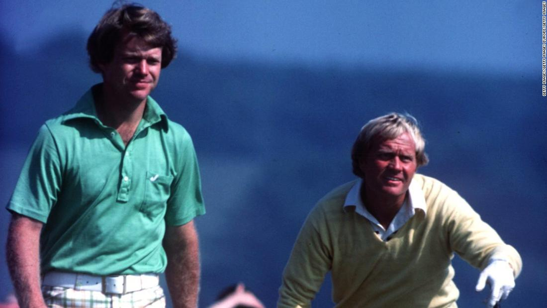 In what became known as the Duel in the Sun, Nicklaus and Watson went head-to-head on a scintillating final day, but the younger Watson prevailed for his second Open and third major title.