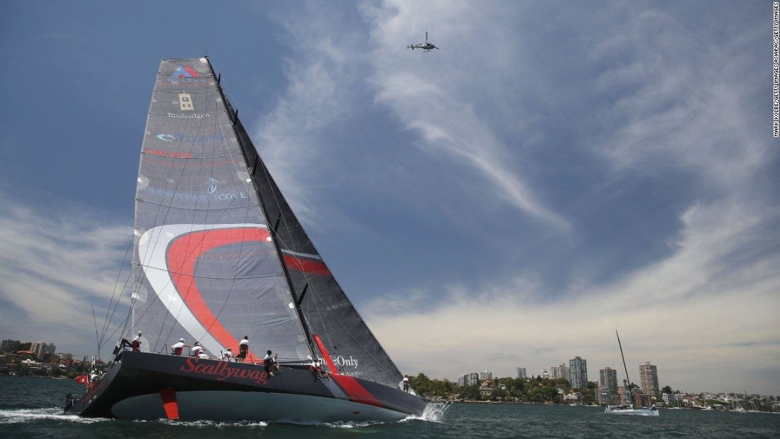 Under new ownership this year, Scallywag is expected to challenge the eight-time champion for the overall crown. Having contested her first Sydney-Hobart in 2014, finishing third -- and then second in 2015 -- the crew of Scallywag will hope hope to gone one better in this year's race.