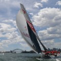 Superyacht wilds oats xi sydney harbour hobart supermaxi opera house