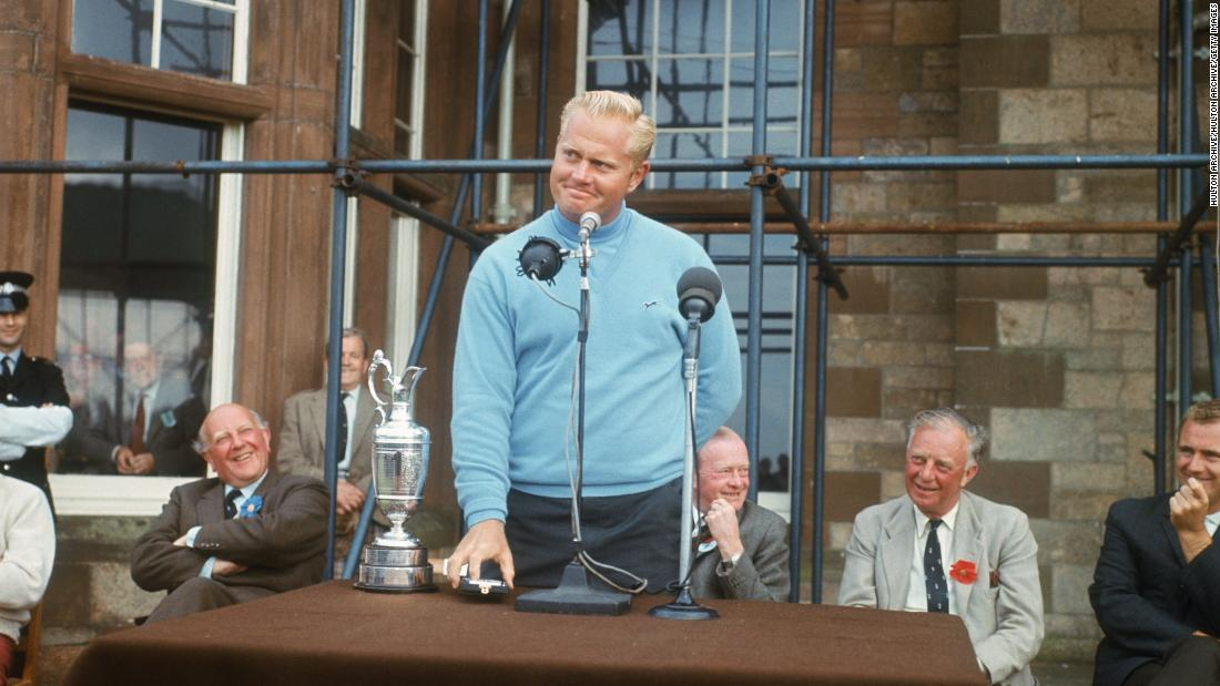 In 1966 Nicklaus won his third Masters and then added a sixth major title at the British Open at Muirfield in Scotland. All by the age of 26.