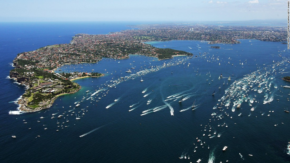 The annual Sydney to Hobart yacht race pits crews from all over the world against each other in a notorious and challenging 628 nautical mile dash from Australia's east coast to the island of Tasmania.
