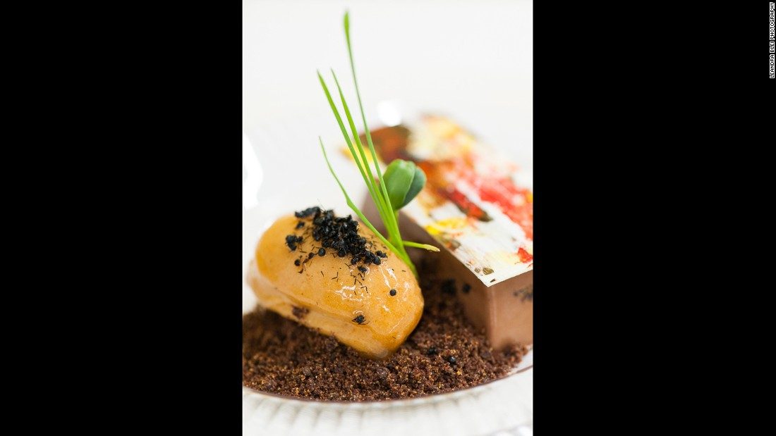 "<br />Despite all the benefits, if you're still unsure of giving insects a chance, just add chocolate.<br /><br /><strong>Pictured:</strong> Chocolate Cremeux with toasted crickets made with whole crickets, cricket flour and aromatic black ants, created by pastry chef Ernest Lopez of San Antonio's Eilan Hotel.<br /><br />""Edible insects offer a whole new world of flavor and texture that you've likely never experienced,"" said Meghan Curry, an <a href=""http://bugvivant.com/"" target=""_blank"">entomophagist and founder of Bug Vivant</a>, an online based culinary hub which introduces edible insects to kitchens globally.<br />"