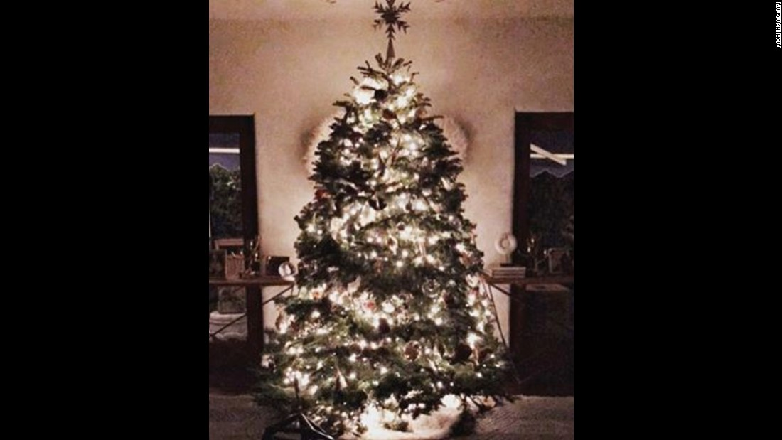 "Jessica Alba has been getting into the spirit and showed followers her beautiful tree with the caption: ""Merry Merry."""