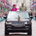 Prince Phillip and Queen 90bday parade
