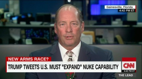 "Congressman Yoho: Russia acting ""high school"" on nuke talk Lead Live_00005724"