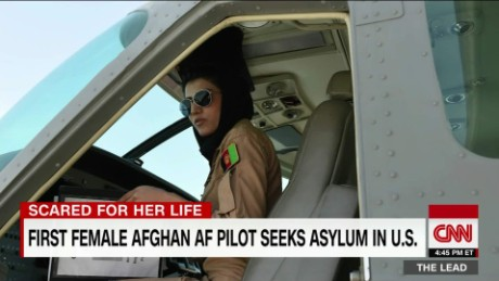 first female Afghan pilot seeks asylum in U.S. the lead jake tapper_00002908