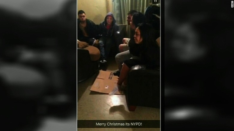NYPD officer suspended for Snapchat post