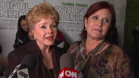 carrie fisher debbie reynolds wishful drinking red carpet 2010_00000222