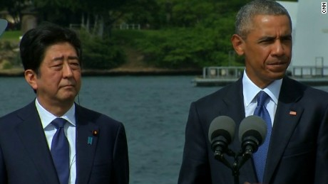 barack obama shinzo abe pearl harbor remarks