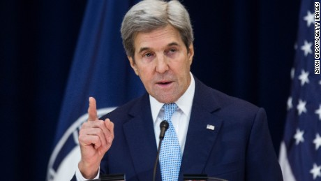 John Kerry says current goals under Paris climate agreement 'inadequate' to reduce Earth's temperature