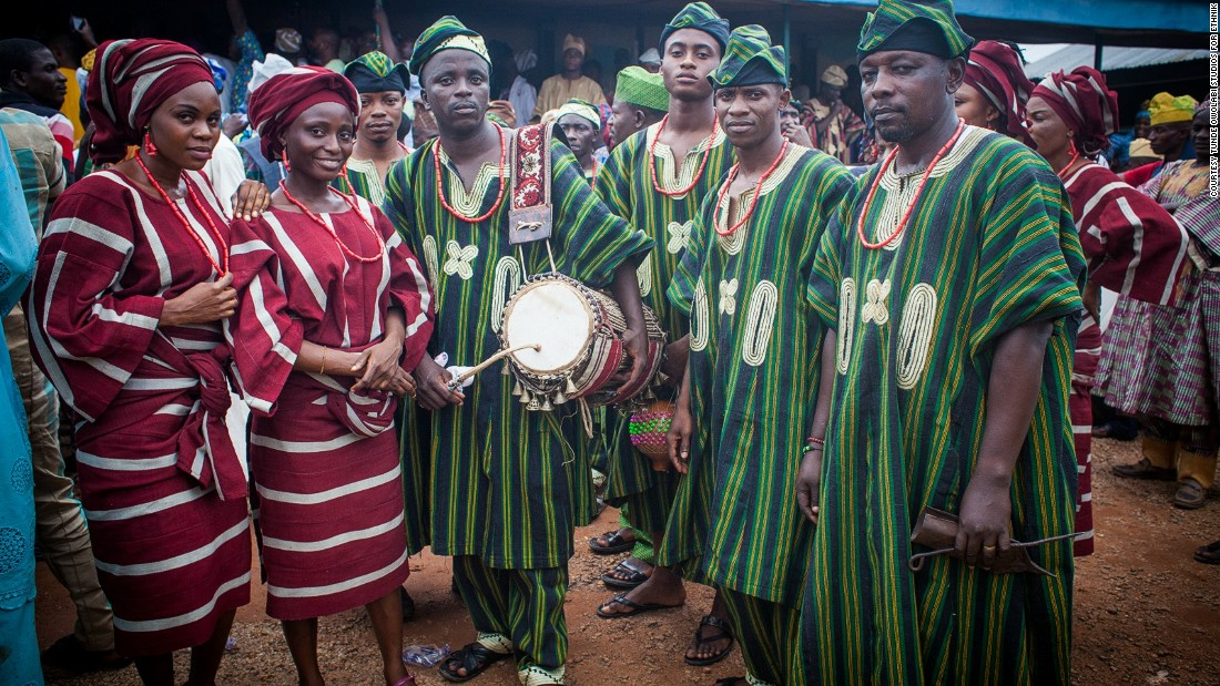 Today, the Yoruba people make up 12% of the population in Benin and 21% in Nigeria, Africa's most populous country.
