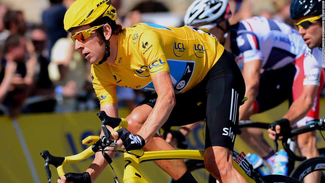 Bradley Wiggins was the first Briton to win the Tour de France, triumphing in 2012.