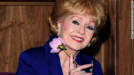 LONDON, ENGLAND - APRIL 01:  Debbie Reynolds poses during a photocall to promote her UK tour 'Alive and Fabulous' on her 78th birthday at The Sofitel Hotel, St James on April 1, 2010 in London, England.  (Photo by Gareth Cattermole/Getty Images)