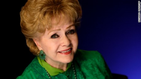 Actress Debbie Reynolds poses for a portrait in New York,  Friday, Oct. 14, 2011. (AP Photo/Richard Drew)