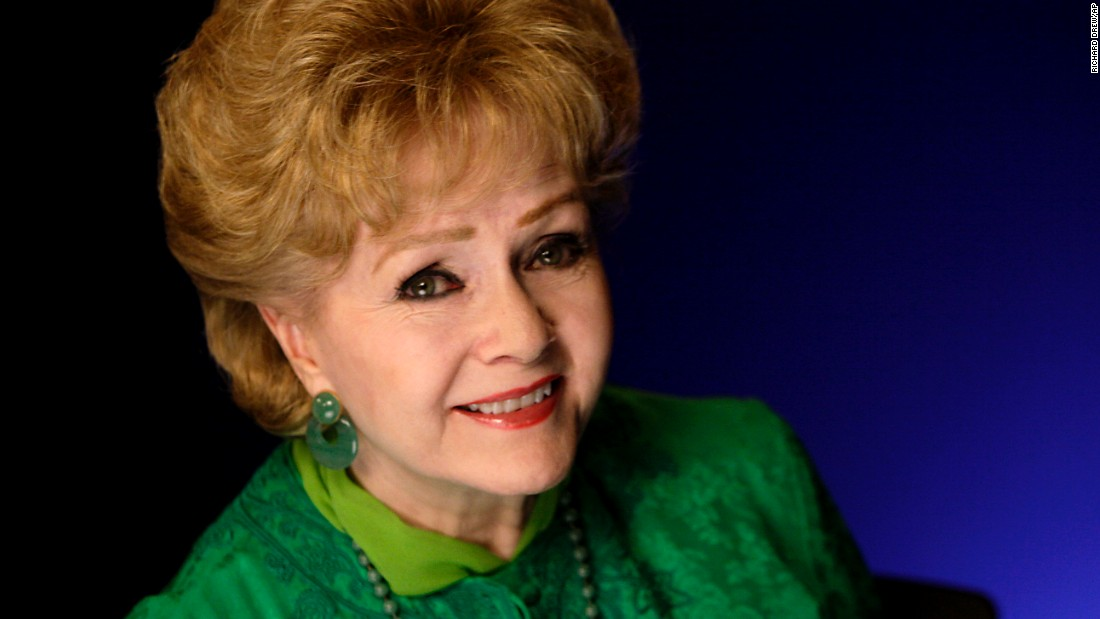 Actress Debbie Reynolds poses for a portrait in New York on October 14, 2011.